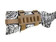 AIRSOFT AEG  Shotgun Buttstock Shell Holder - COYOTE - FOR TOY SHELL M870