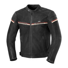 iXS Flagstaff Vintage Leather Motorcycle Jacket With Armor Black Men's