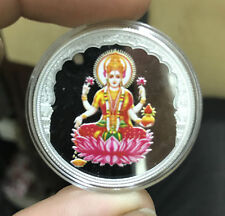 20 Grams 999.9 Silver Mmtc Pamp Lakshmi color coin