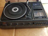 Compatto LARSEN SL 803 Giradischi radio cassette  HI-FI VINTAGE