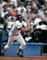 Steve Yeager Signed Autographed 8X10 Photo LA Dodgers Home Post Swing Vert w/COA