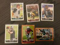 2013 Topps Chrome 6 Card Refractor lot Justin Blackmon + More