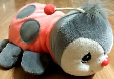 Precious Moments Tender Tails Ladybug Red and Grey stuffed animal 1998 miniplush