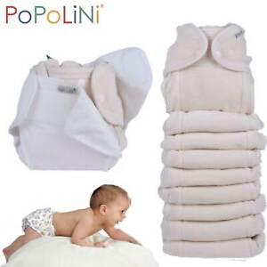 Popolini Stoffwindel-Set ** OneSize Soft MEGA ** Überhosen, Windelvlies etc.