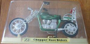 1971 Green Chopper Ezee Riders Zee Toys