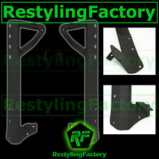 "Jeep JK 07-15 Steel Cab Windshield Mounting Brackets for 50""+ 2"" LED Light bar"