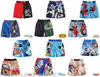Boys Official CHARACTER Swim SHORTS Swimming Trunks Swimwear Age 3 - 12 Years