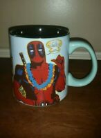 "DEADPOOL ""GREETINGS FROM DEADPOOL"" 20oz. COFFEE MUG! BRAND NEW!"