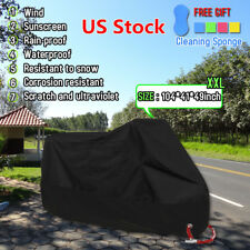 "XXL 104"" Motorcycle Cover Motor bike Scooter Waterproof Sun UV Dust Protector"