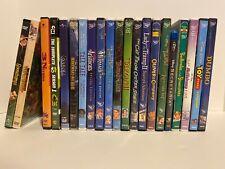 Childrens Dvd Lot Of 21 Disney Goosebumps Cartoon Network