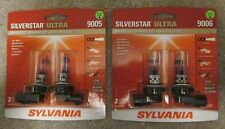 NEW Sylvania Silverstar Ultra 9005 9006 SU/2 Hi Lo Beam - 4  BRAND NEW bulbs