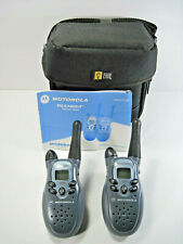 Motorola Talkabout T5300 2-Way Radios FRS 2 Mile 14 Channel Walkie Talkie Tested