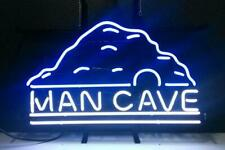 """Man Cave Sign Light Real Neon store Display Beer Bar Pub Mancave Sign17""""X14"""""""