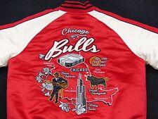 Chicago Bulls EE.UU. Retro Starter Rojo Cazadora NBA Vintage Tallla: M