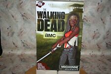 "WALKING DEAD MICHONNE 18"" TALL 1/4 FIGURE STATUE CLOAK METAL SWORD GENTAL GIANT"