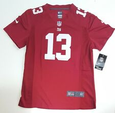 Nike Odell Beckham Jr New York Giants Elite Alternate Red Jersey Youth XL