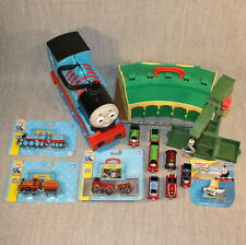 THOMAS AND FRIENDS Take Along N' Play Trains Carry Case Engines Bundle Huge Lot