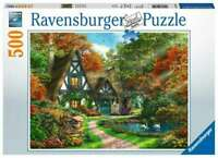 NEW! Ravensburger Cottage in Autumn by Dominic Davison 500 piece jigsaw puzzle