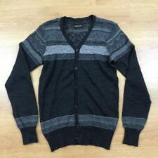 Wool Button-Front Cardigans Fair Isle, Nordic Jumpers & Cardigans for Men