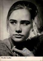 Autogrammkarte Autograph Film Bühne DDR Starfoto signiert Micaela Kreißler Foto