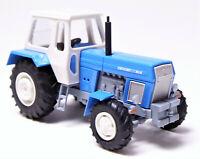 H0 BUSCH Traktor Fortschritt ZT 303-D blau weiß grau DDR Allradtraktor # 42847