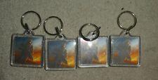 XBOX 360 one Microsoft Halo Master Chief Keyring set of 4 new Reach key ring