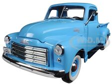 1950 GMC PICKUP TRUCK BLUE 1:18 DIECAST MODEL BY ROAD SIGNATURE 92648