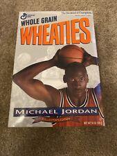 Bulls Michael Jordan Error Wheaties Cereal Box Collector's Edition Unopened Box