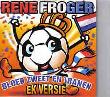 Rene Froger- bloed zweet en tranen EK versie cd single