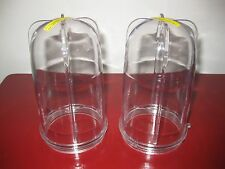 Magic Bullet 2 Tall Cups Brand New Genuine Parts No Wait! FREE SHIPPING!