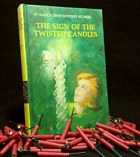 Vintage NANCY DREW Matte #9 The Sign of the Twisted Candles VERY GOOD