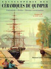 Encyclopédie des céramiques de Quimper tome 2