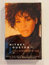 WHITNEY HOUSTON I Will Always Love You 1992 CASSETTE SINGLE New SEALED