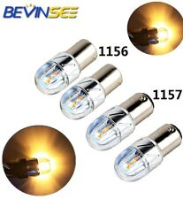 4x 1156 1157 LED Car Tail Stop Brake Light Turn Signal Reverse Bulb For Chevy