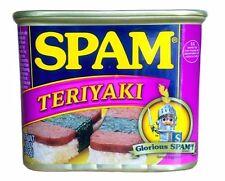 Spam Teriyaki Flavor Three 12 Oz Can (FREE SHIPPING)
