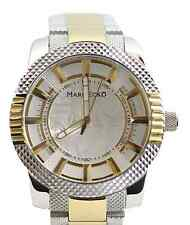 Mens Marc Ecko  Classic Gold and Silver Analog Watch M15039G2