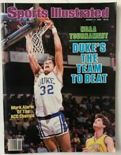 MARK ALARIE March 17, 1986 Sports Illustrated Magazine - NO LABEL
