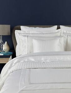 Christy Coniston Superking Flat Sheet In White