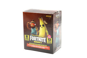 Panini Fortnite Series 2 Trading Cards Factory Sealed Box Mega Blasterbox
