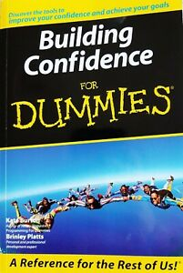 Building Confidence For Dummies, Like New Book, Burton & Platts