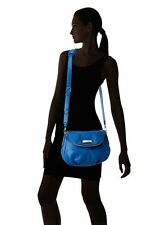 NWT Marc by Marc Jacobs Classic Q Natasha Crossbody Bag Salton Sea BLUE Leather