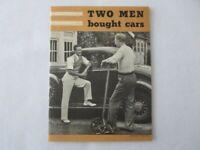 Vintage Standard Accident Insurance Book Sales Brochure 1930s - Auto Insurance
