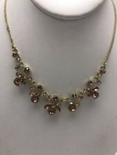 statement necklace F26 $78 Givenchy crystal cluster