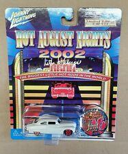 Johnny Lightning 2002 Hot August Nights White Lightning '49 Mercury 1/777 SIGNED