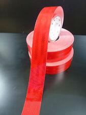 3M Red Reflective Tape Diamond Grade 50mm X 5 Metres