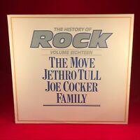THE MOVE FAMILY JETHRO TULL JOE COCKER HISTORY OF ROCK volume 18 VINYL LP