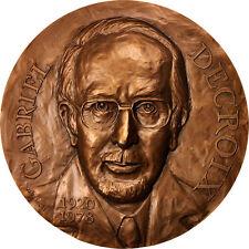 [#415683] France, Medal, Gabriel Decroix, Faculté de Médecine de Lille
