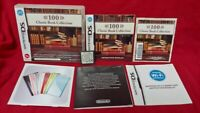 100 Classic Book - Nintendo DS DS Lite 3DS 2DS Game Tested REGION FREE PAL UK