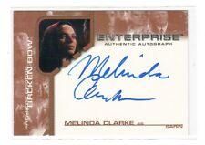 Entreprise , Star Trek , Melinda Clarke as Sarin auto card BBA7