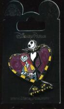 Nightmare Before Christmas Jack Sally Harlequin Demon Heart Disney Pin 128847